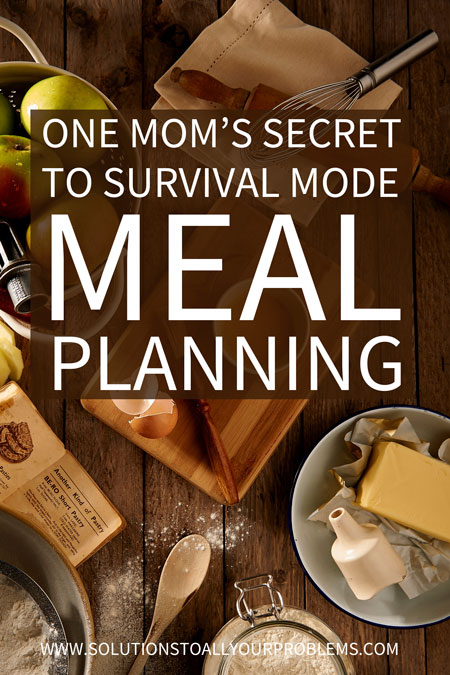 I was so overwhelmed with dinner time until I tried this super simple meal planning method. || Meal planning for beginners and busy people.