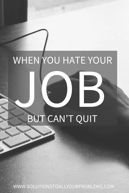 I seriously hate my job!!! Sound like you? Check out this article for career advice.