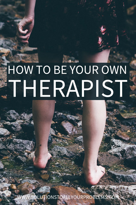 Feel like you could benefit from mental health therapy, but don't have access to a therapist or haven't been able to find a therapist you clicked with? Check out this article on how to be your own therapist...