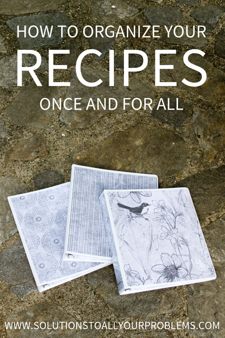 How to organize your recipes once and for all! Check out these recipe organization ideas so you can always find exactly what you are looking for! Learn how to DIY recipe binders!