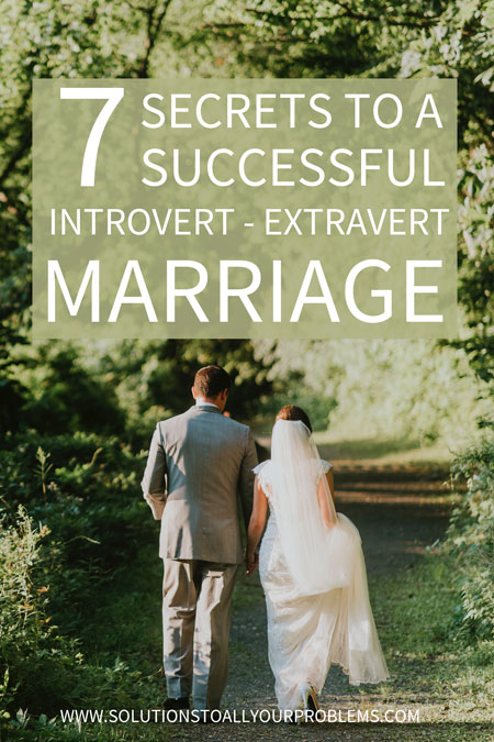 Can an introvert-extravert marriage be successful? For sure! I'm an introvert married to an extravert and here are 7 things my husband and I do to make our introvert-extravert relationship work.