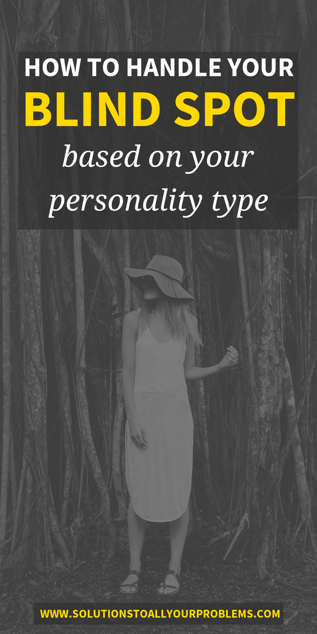 How to deal with your personality type's blind spot function based on my own experience. || MBTI inferior function. || Myers Briggs personality types.