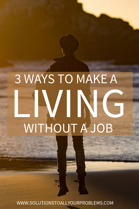 Sick of your job and tired of following the traditional career paths? Check out this post! || How to make a living without a job. || Career change. || Unjobbing.