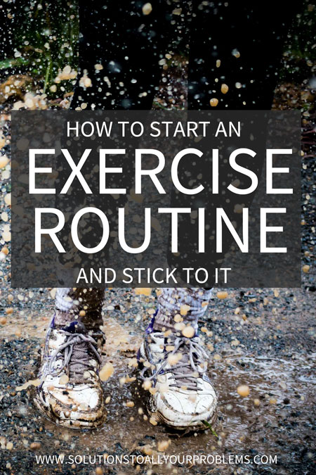 It's one thing to start an exercise routine. But what can you do to make it stick? Check out this article for some exercise motivation and a game plan...