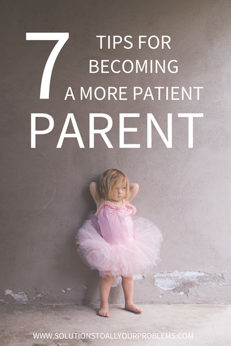 Do you struggle to have enough patience with your kids? Me too! Here are 7 tips on how to be more patient.