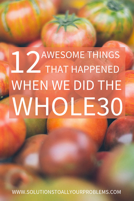 Thinking about trying the Whole 30 challenge? Read on to find out the results of our Whole30...