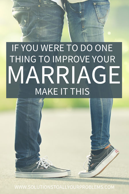 Want to learn how to improve your marriage? The simple relationship advice I'm sharing in this article is what saved my marriage!
