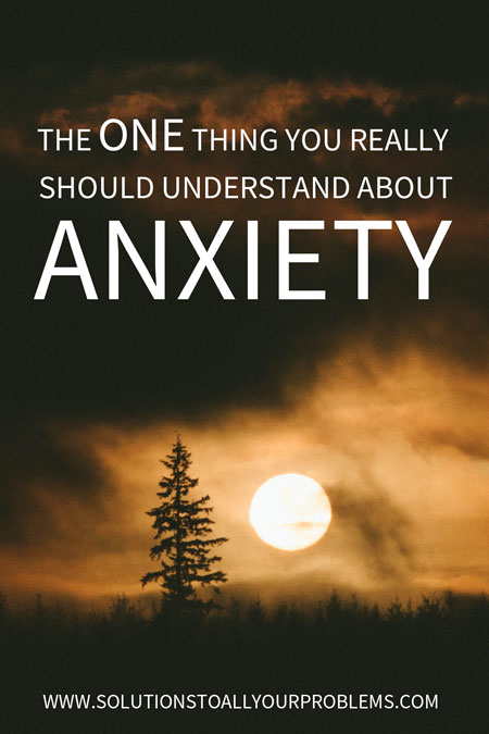 Understanding anxiety and this one thing in particular has made it easier for me to deal with it...