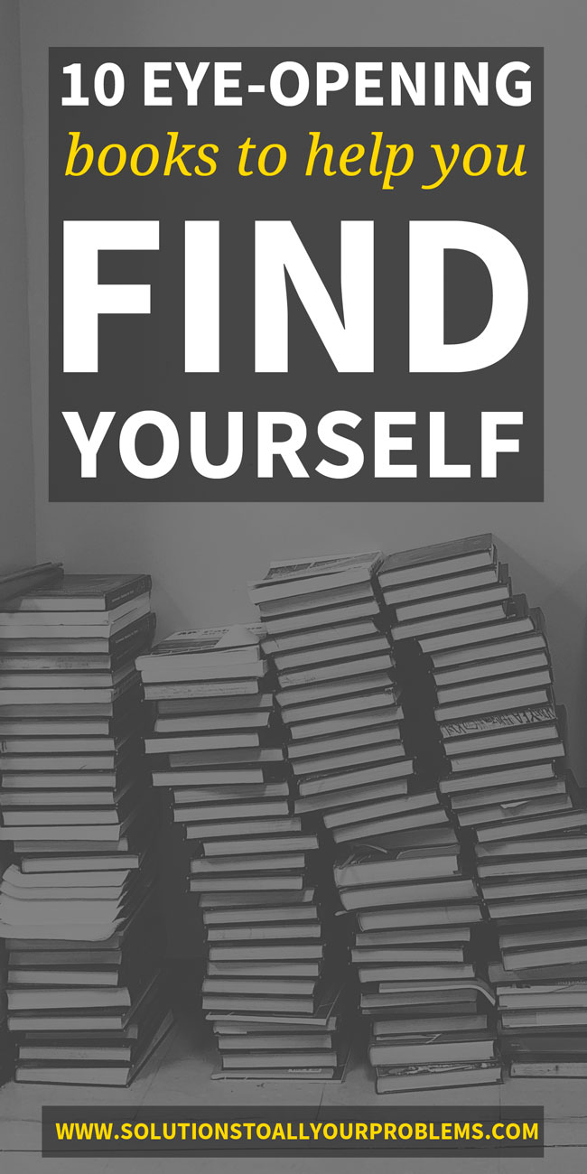 Books To Help You Find Yourself: Check out these life changing self help books packed with lessons and exercises for self awareness! These are the books that put me on the right path in life. :)