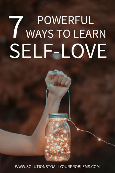 Learning to love yourself is SO important! I used to struggle with low self esteem until I discovered these 7 powerful ways to learn self love and was finally able to stop beating myself up all the time.