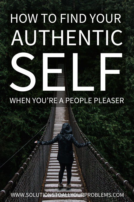 How to find your authentic self when you've lost yourself in people pleasing. Finding your authentic self can be tricky when you've been focusing on others all your life. Here are 5 steps to discover yourself. They worked for me, so I hope they work for you too! :)