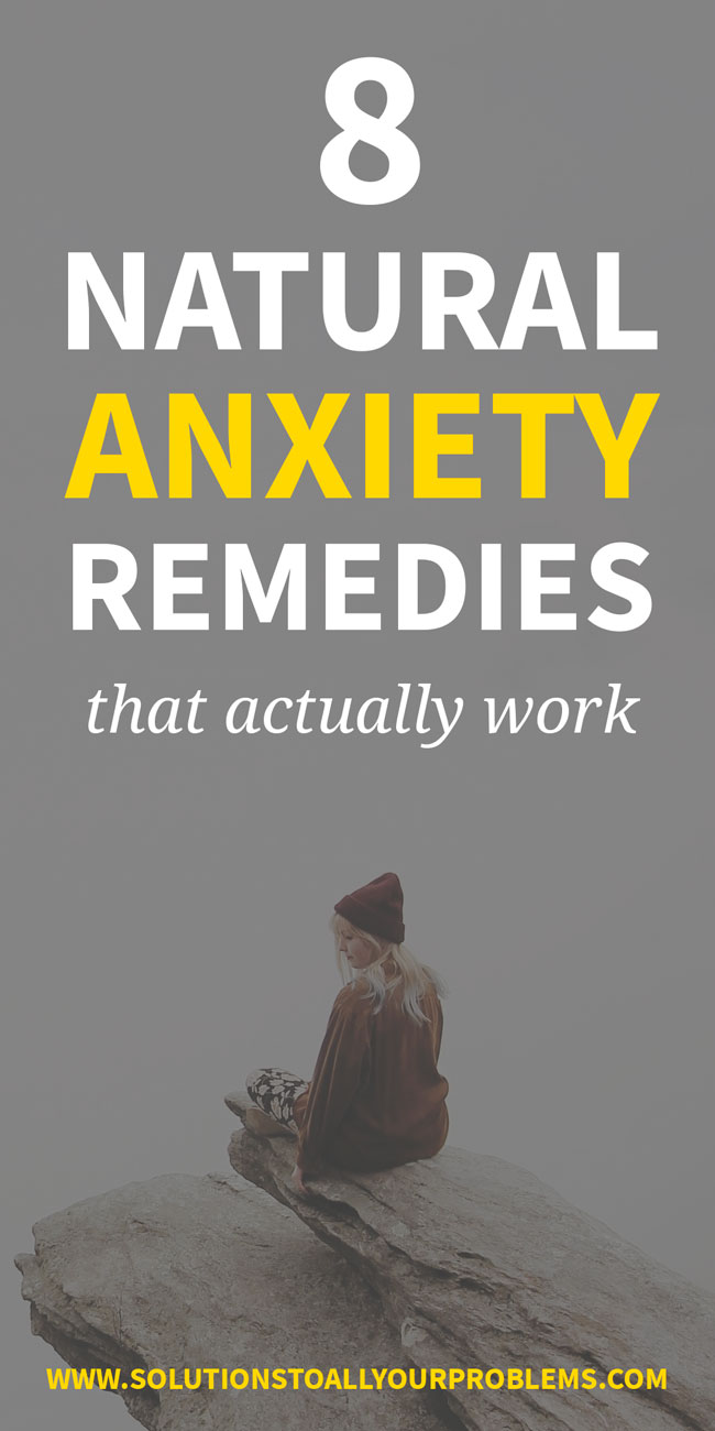 Natural anxiety remedies that ACTUALLY work! I used to suffer from severe anxiety and these eight natural ways of dealing with anxiety have literally changed my life. I hope they help you too!