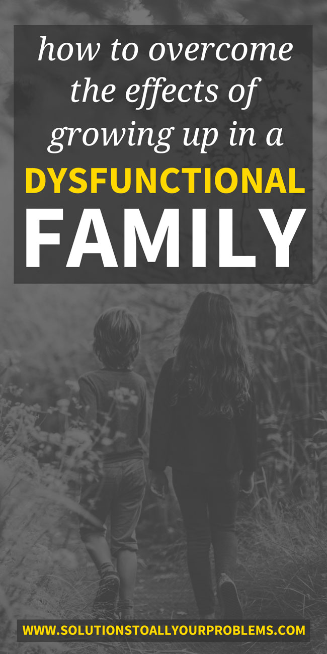 Overcoming the effects of growing up in a dysfunctional family is not easy but it can be done. Here are 5 things that have helped me the most...