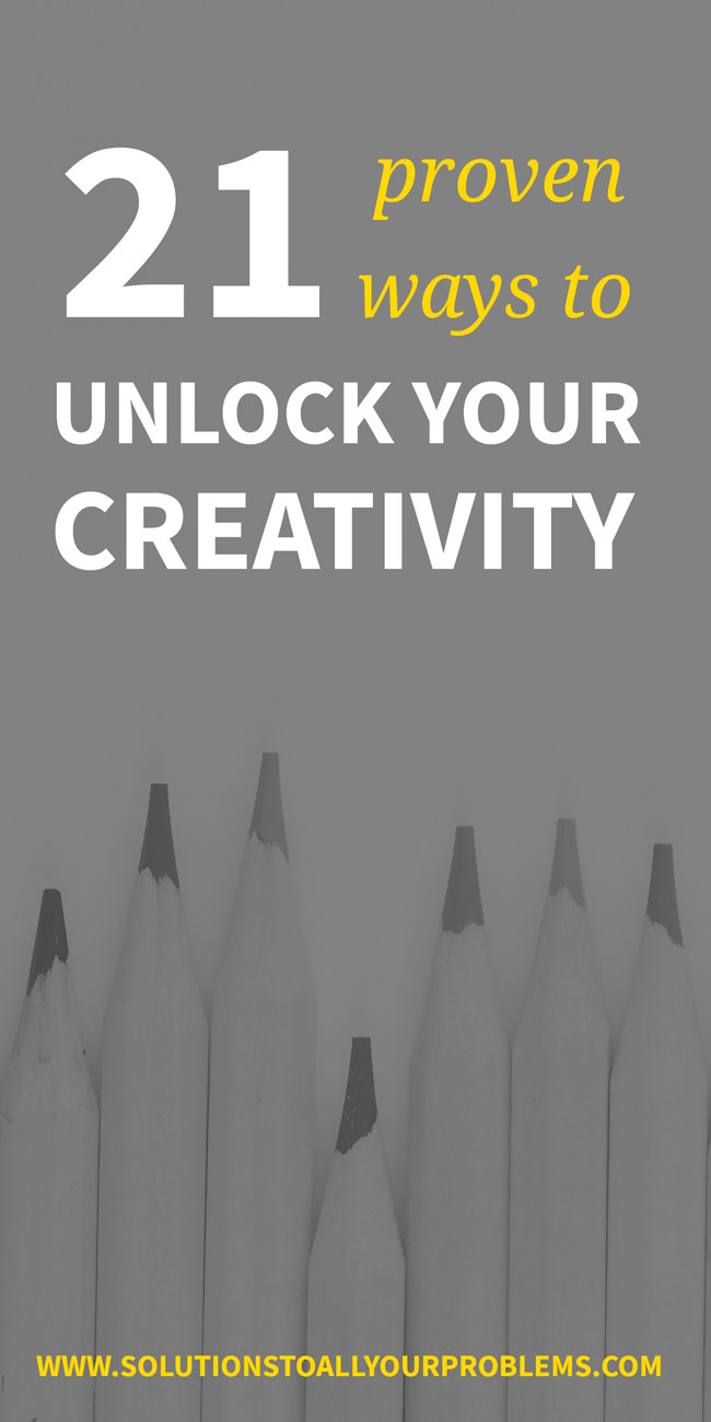 How To Become Creative - Here are 21 proven ways to boost creativity!