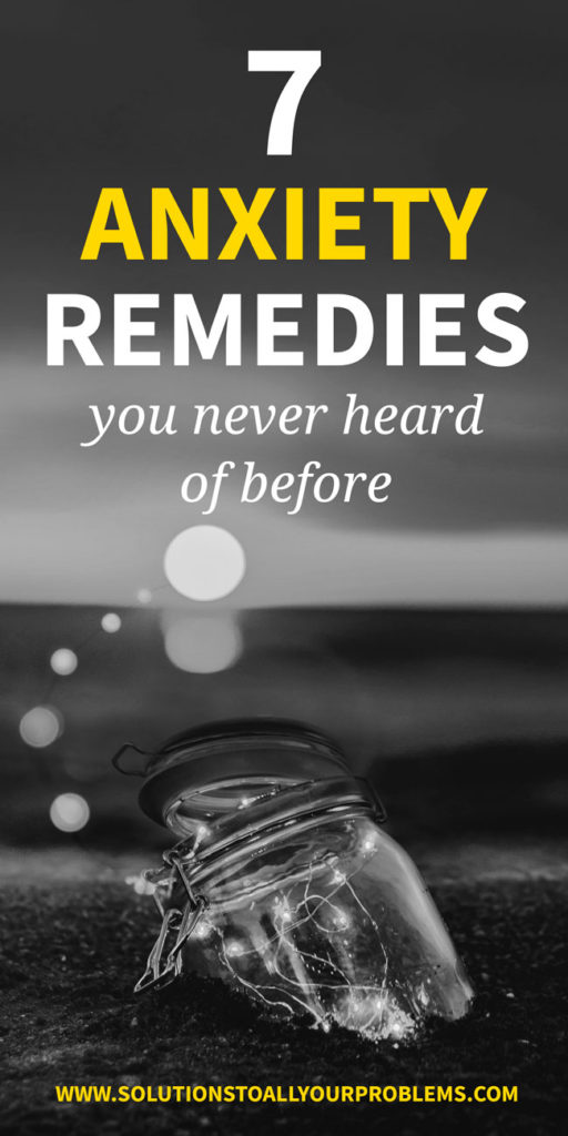 Anxiety Remedies You Never Heard About! I thought I had tried it all, but then I stumbled on these...
