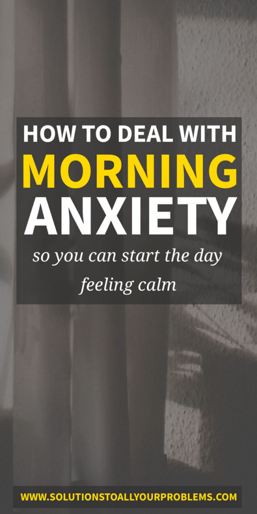 Waking up feeling anxious? How to prevent and stop early morning anxiety.