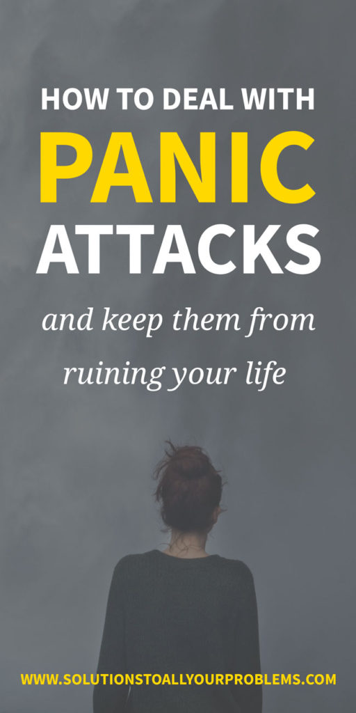 Panic attacks suck! Here's how to deal with panic attacks so they don't ruin your life...
