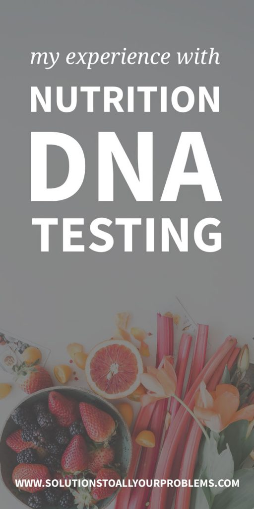 Nutrition Genome Review - my experience with nutrition DNA testing