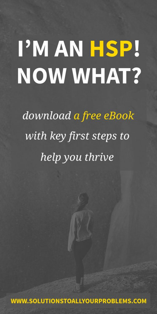 HSP: check out this free book with tips for thriving as a Highly Sensitive Person!