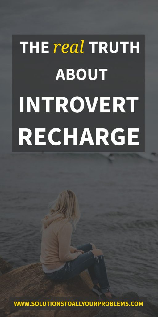 What introvert recharge REALLY looks like...