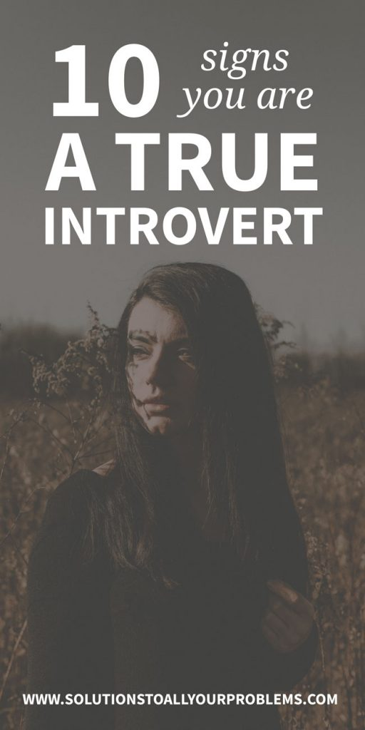 Are you a true introvert? Check out these introvert signs that will let you know for sure! ;)