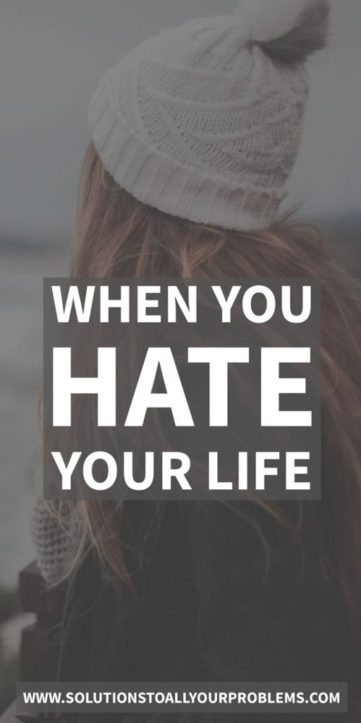 Do I hate my life because I'm depressed?  Or am I depressed because I hate my life?  Here's how I answered this question for myself and figured out how to stop hating my life...