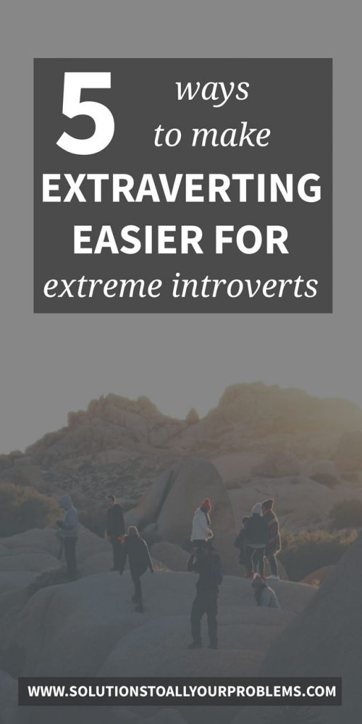 Are you an extreme introvert who gets really drained by interaction?  Here are 5 tips that help...